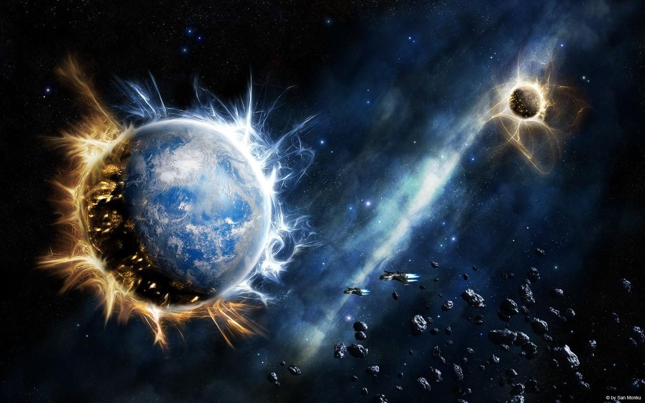 планеты, космос, обои на рабочий стол