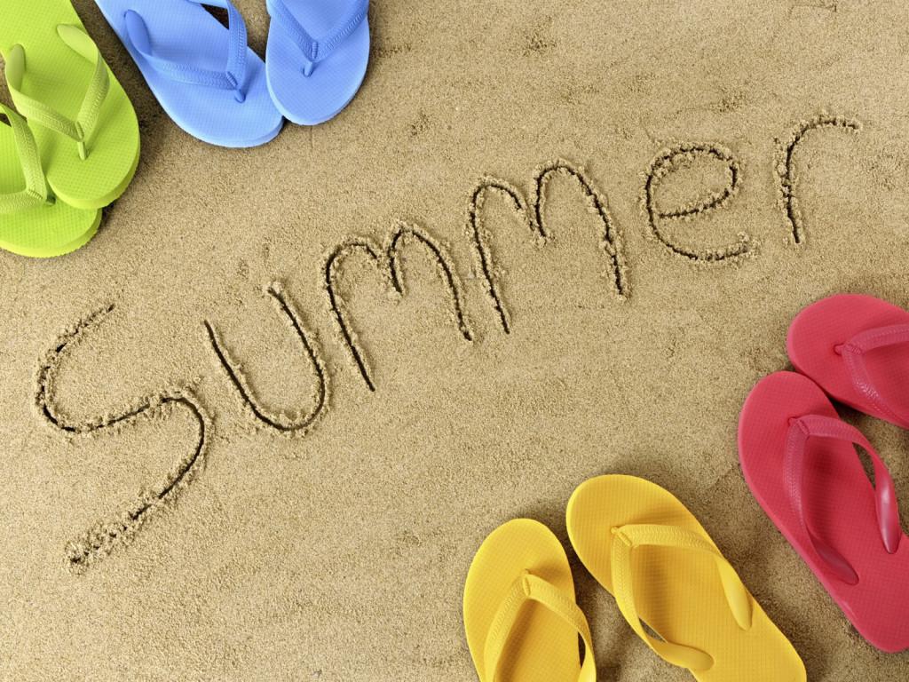 Summer wallpaper, скачать фото, обои для рабочего стола, лето, песок