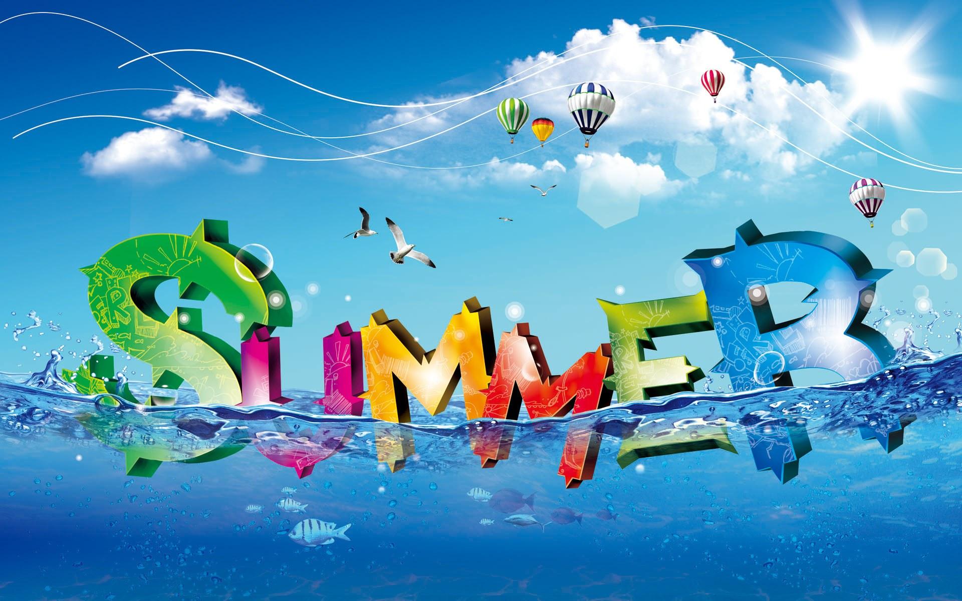 лето, summer wallpaper, скачать фото, обои для рабочего стола, вода, море