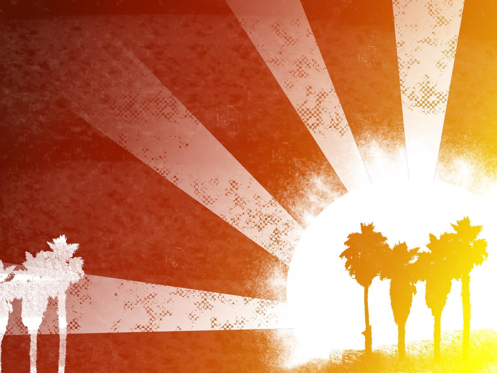лето, пальмы, скачать фото, обои для рабочего стола