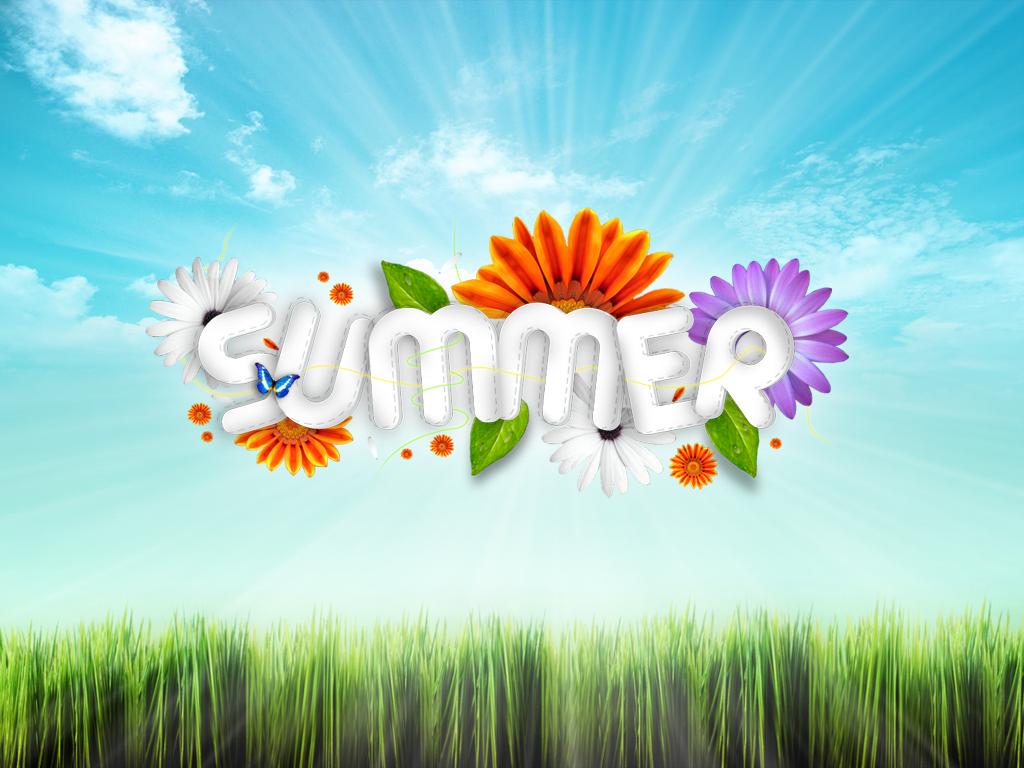 лето, summer wallpaper, скачать фото для рабочего стола, трава, небо
