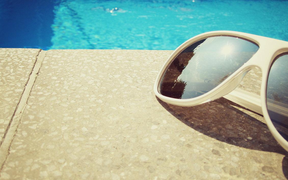 очки, бассейн, скачать фото. обои на рабочий стол, summer