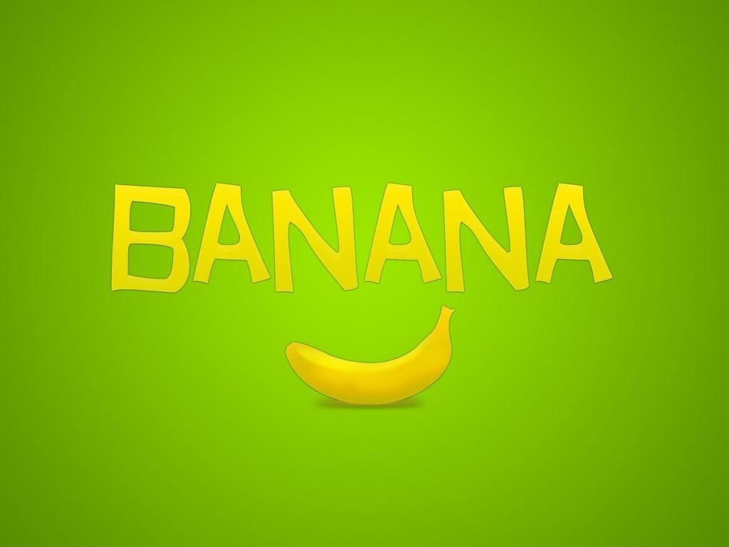 green banana wallapper, скачать фото банан,  обои для рабочего стола, бананы