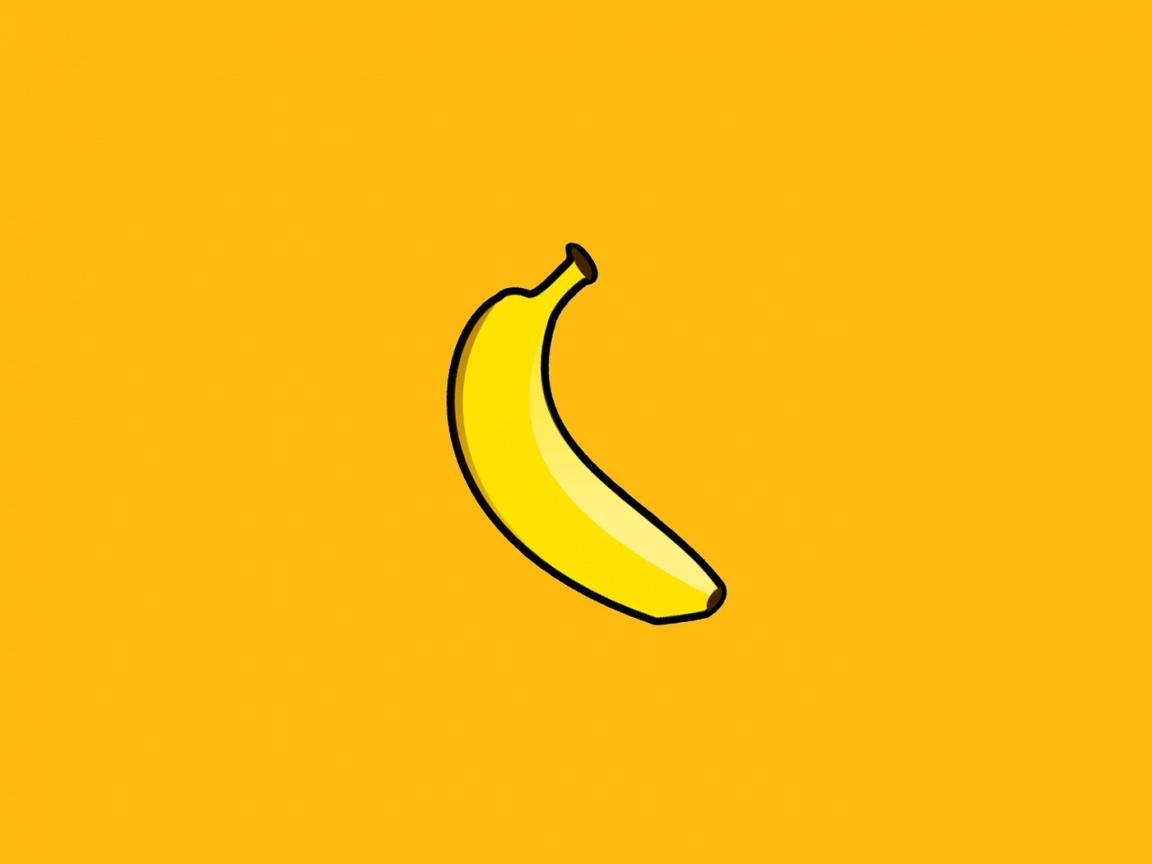 yellow banana wallapper, скачать фото банан,  обои для рабочего стола, бананы