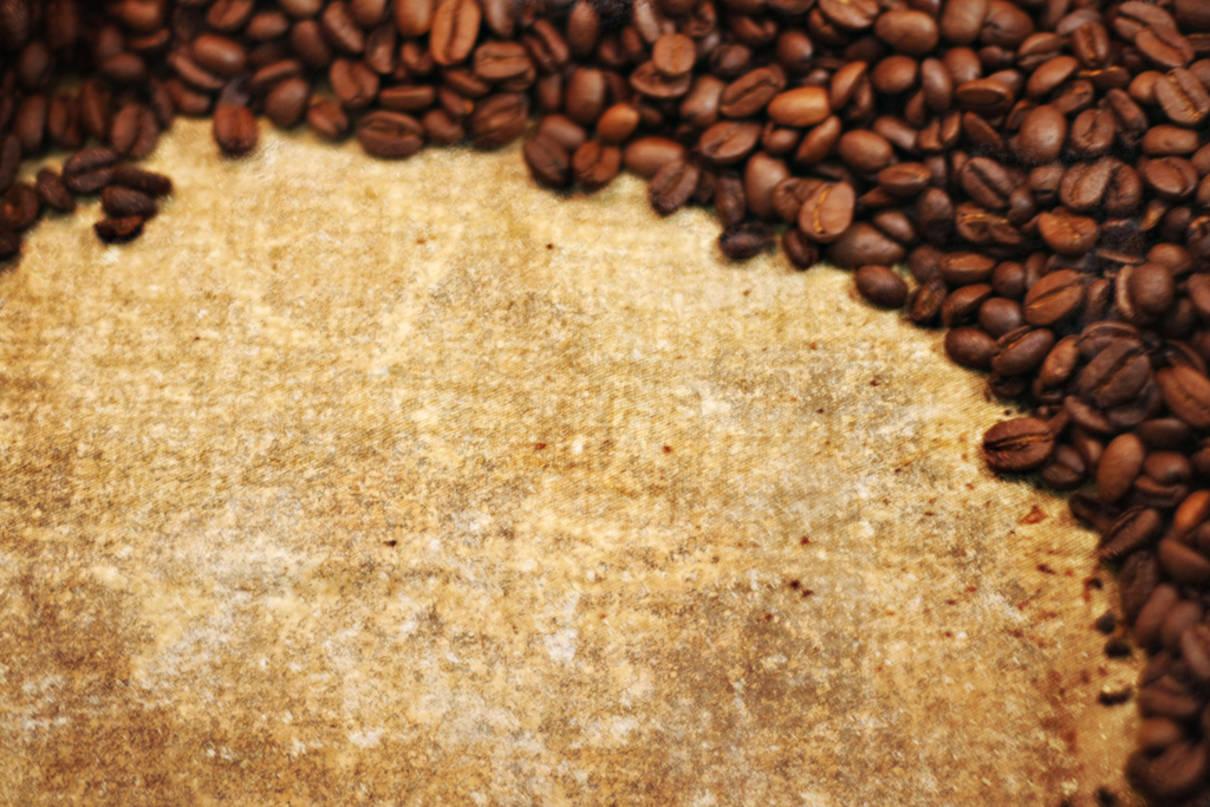кофе на листе старой бумаги, скачать фото, обои на рабочий стол, coffee and paper