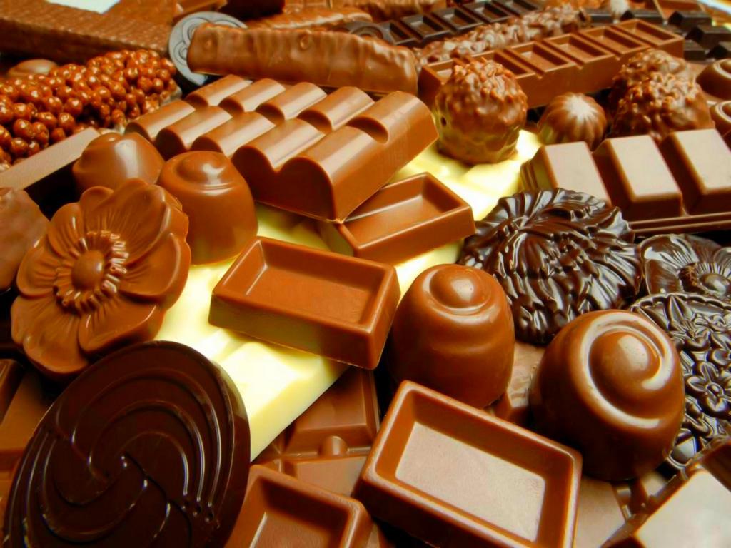 шоколад, шоколадные конфеты, скачать фото, обои для рабочего стола, какао