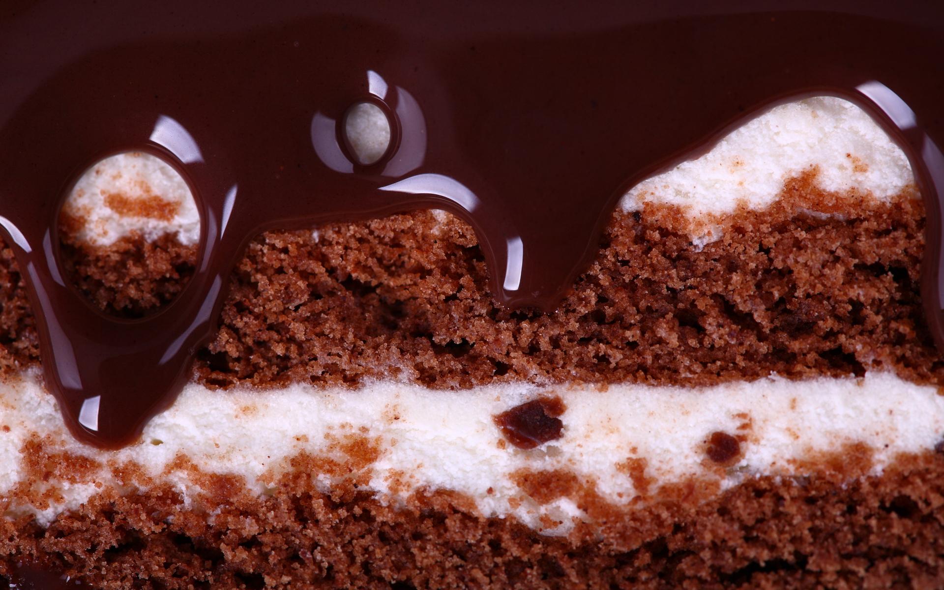 шоколадное пироженное, торт, скачать фото, обои для рабочего стола