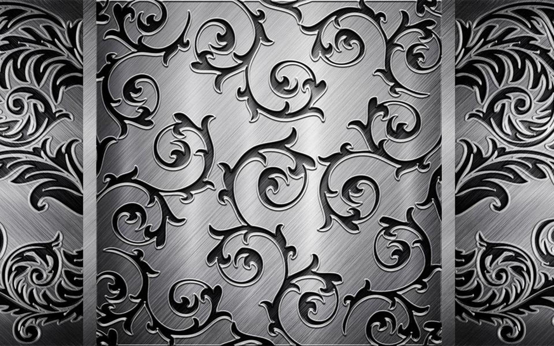 металлический узор, скачать фото, metal wallapper, background