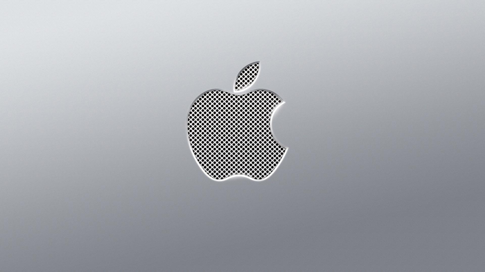 apple metal wallpaper, скачать фото, обои для рабочего стола, металл, железо