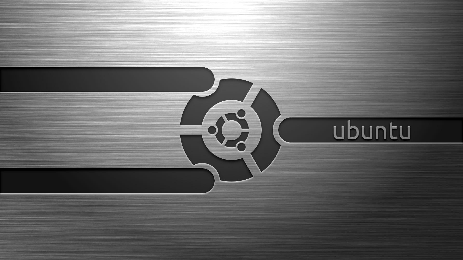 Убунту обои для рабочего стола, metal UBUNTU wallpaper