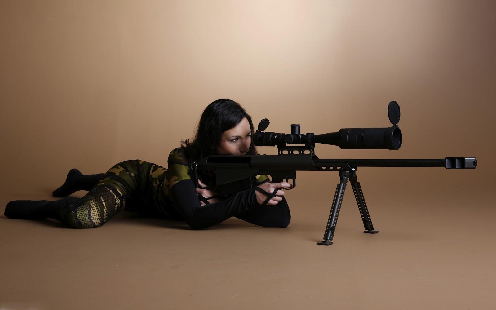 sexy girl sniper, wallpaper, обои на рабочий стол, девушка снайпер, сексуальная