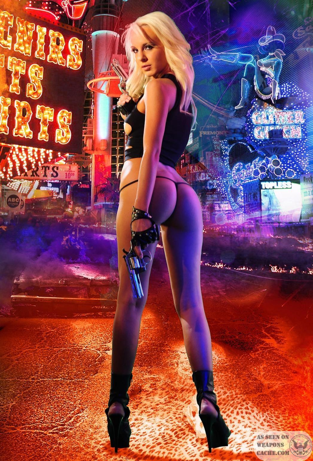 sexy girl with gun wallpaper, сексуальная девушка с пистолетом, скачать фото, обои для рабочего стола