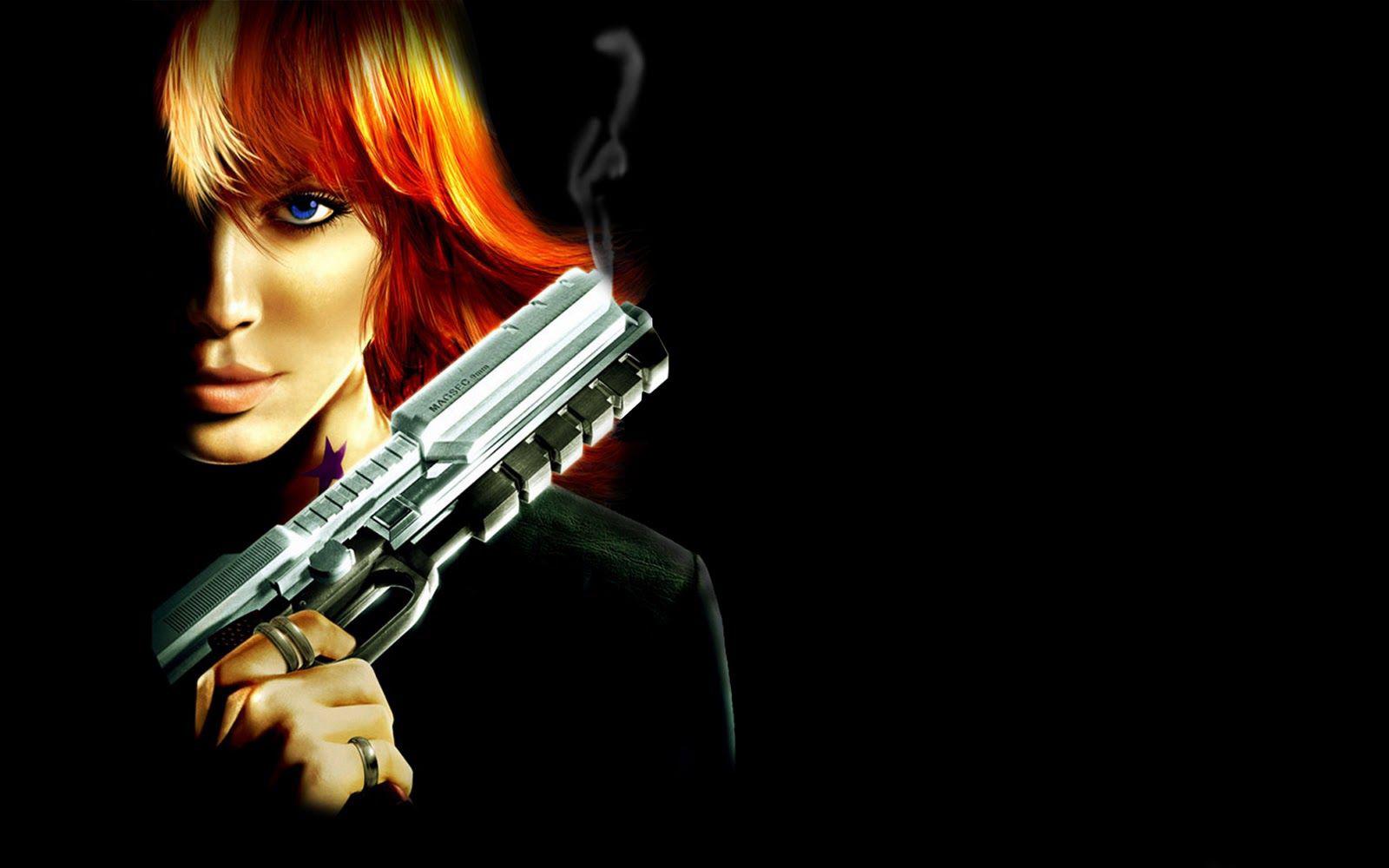 girl with gun wallpaper, девушка с пистолетом, скачать фото, обои для рабочего стола