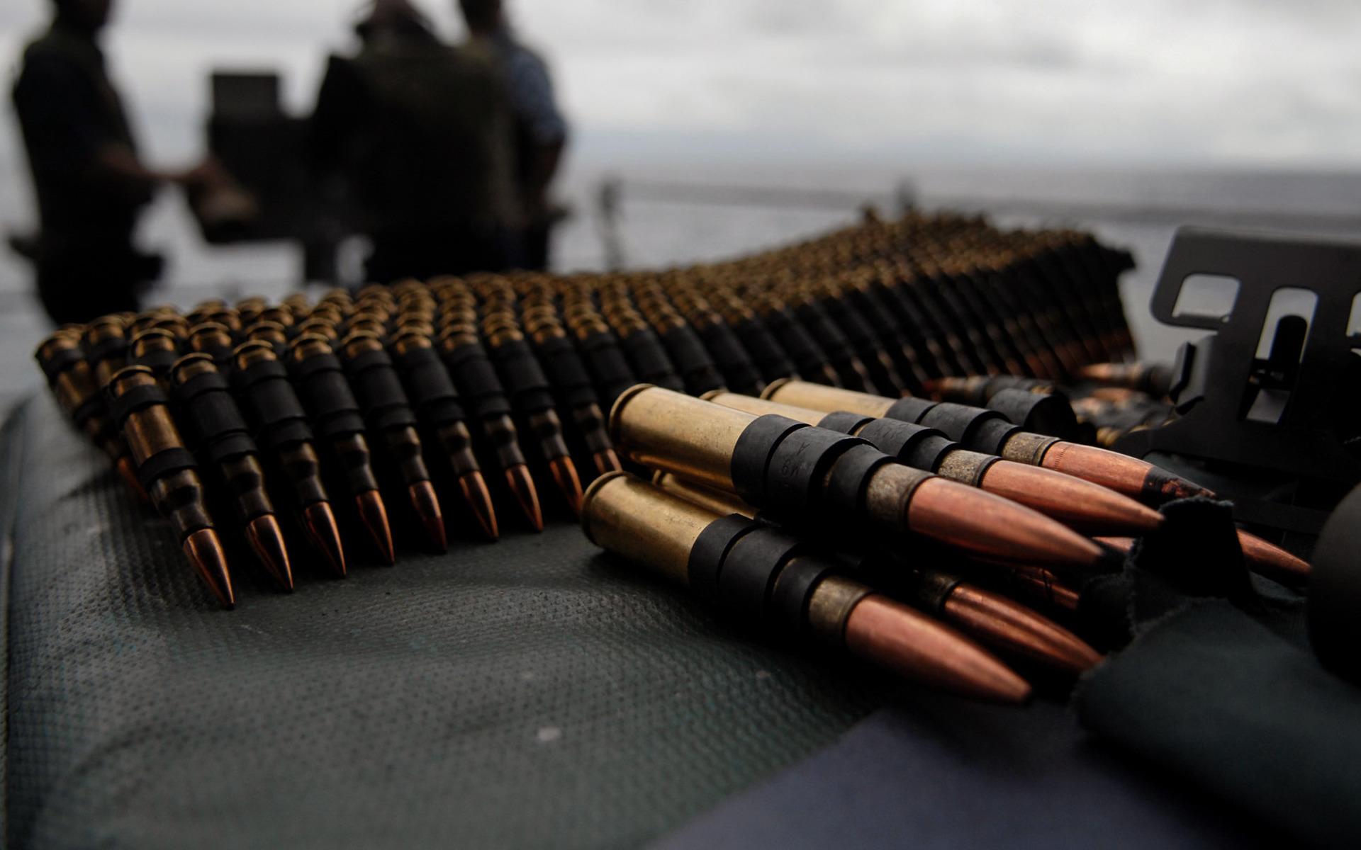 патроны в ленте, скачать фото, обои для рабочего стола, пули, bullets rounds wallpapers