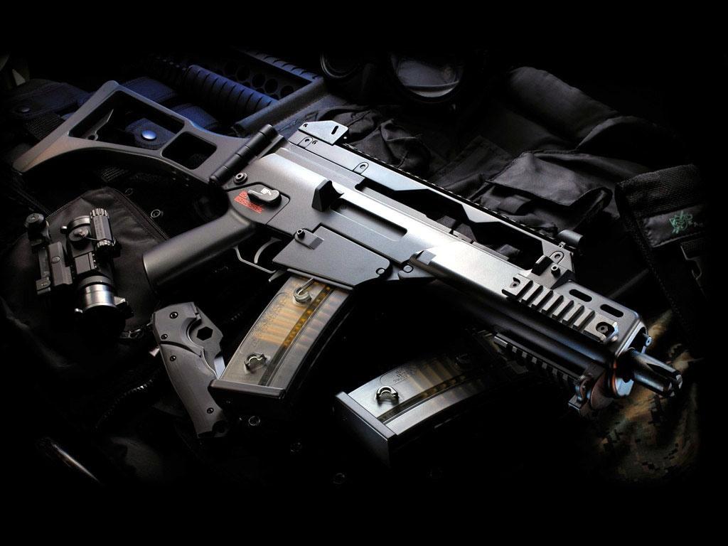 G36, винтовка, автомат, скачтаь фото, обои для рабочего стола, оружие, weapon wallappers
