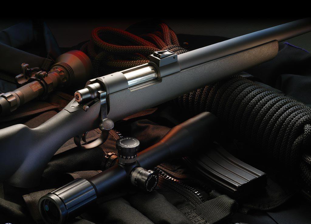 Снайперская винтовка с оптическим прицелом, скачать фото, обои для рабочего стола, weapon rifle sniper wallpaper
