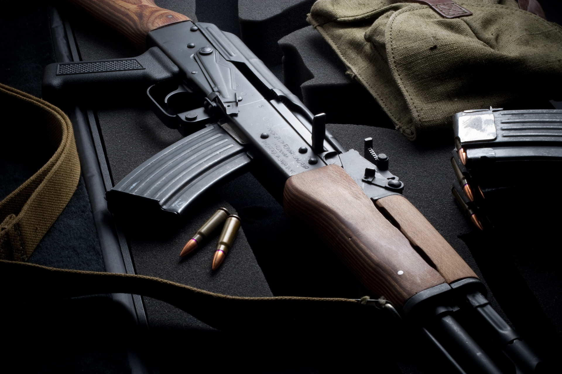 Автомат Калашникова, фото, обои на рабочий стол, Kalashinkov Wallapper, AK-47, АКМ