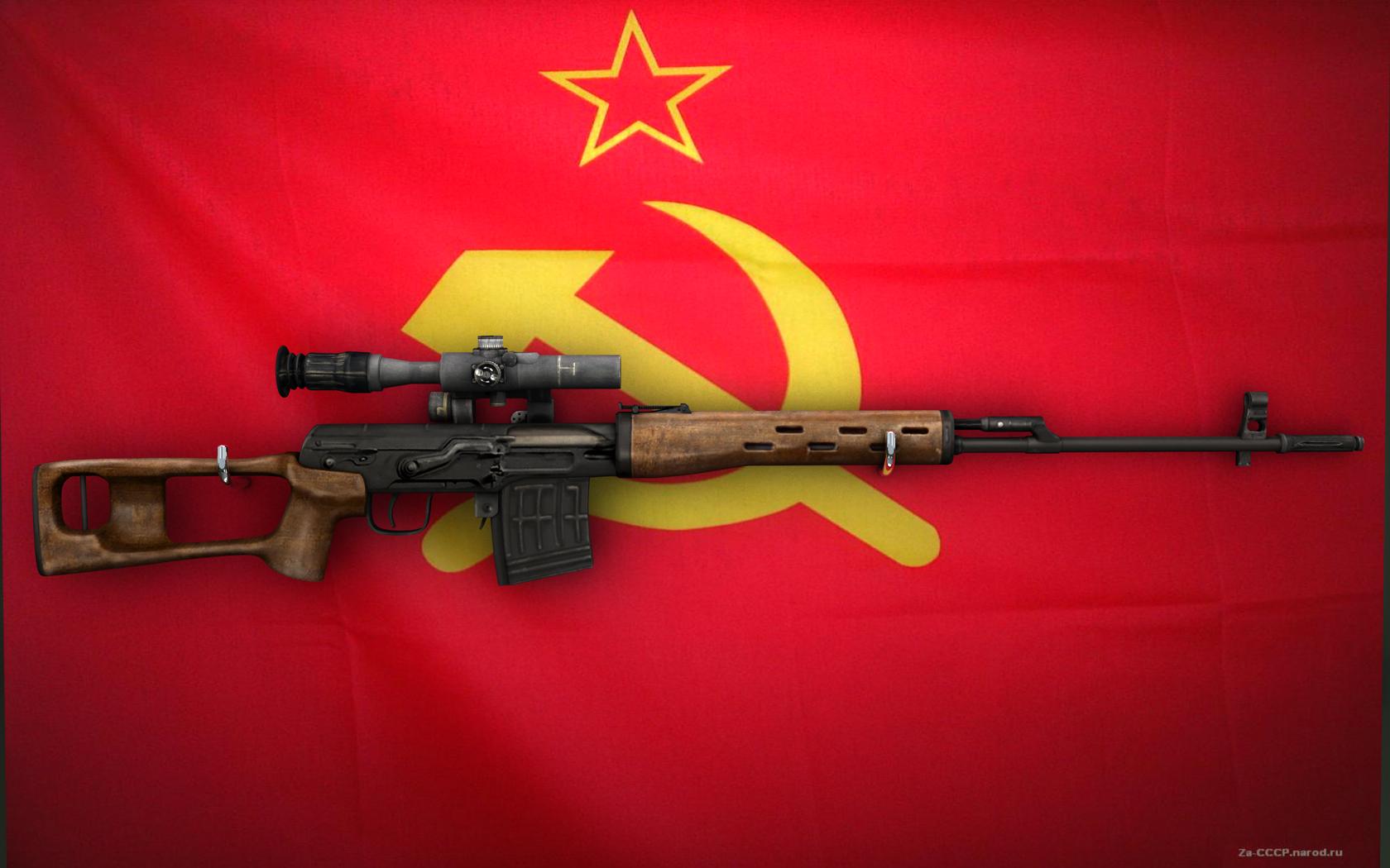SVD Dragunov Wallpaper, скачать фото, обои для рабочего стола, СВД Драгунова, снайперская винтовка