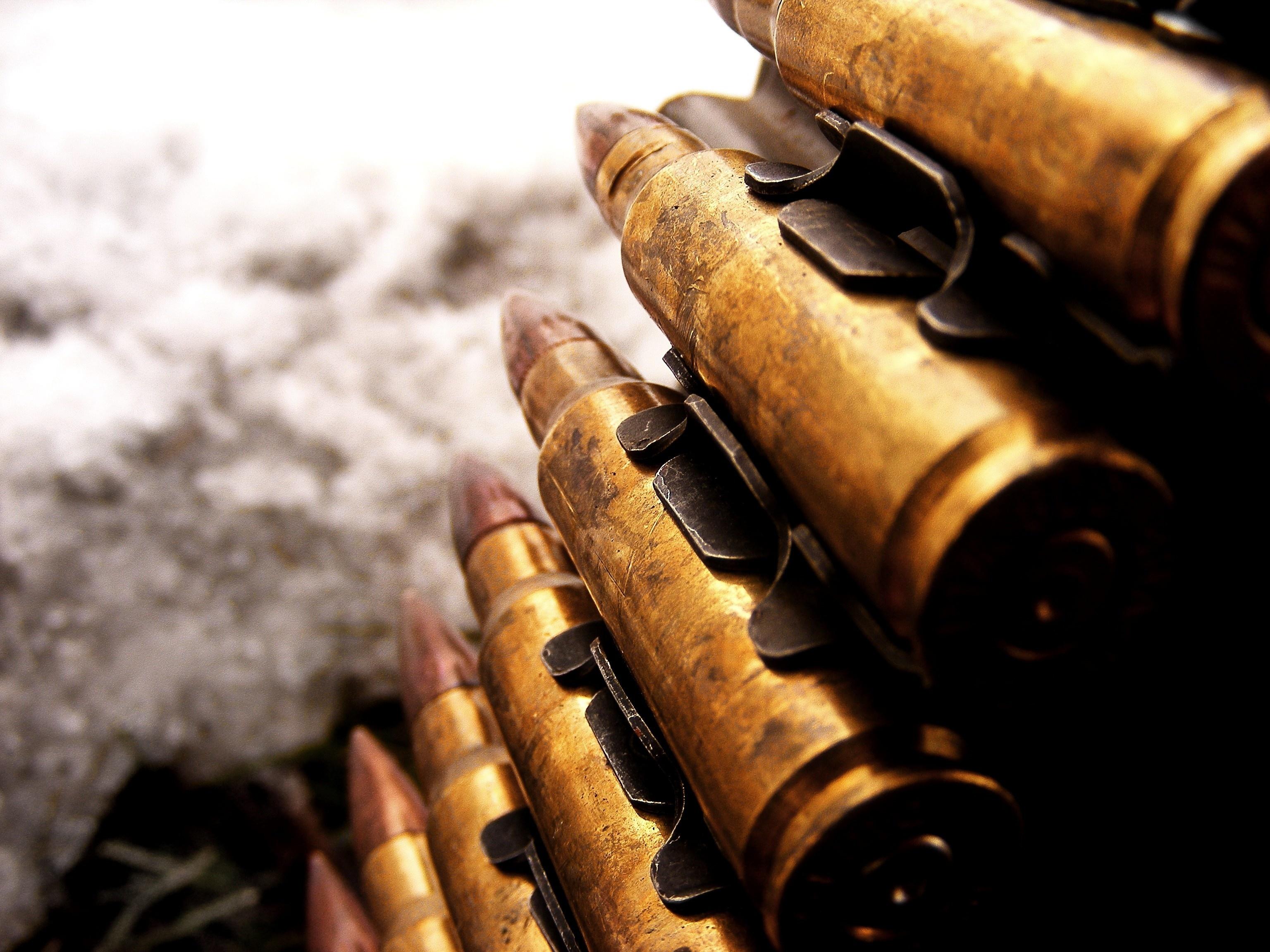 патроны, пулеметная лента, скачать фото, обои для рабочего стола, пули, bullets rounds wallpapers