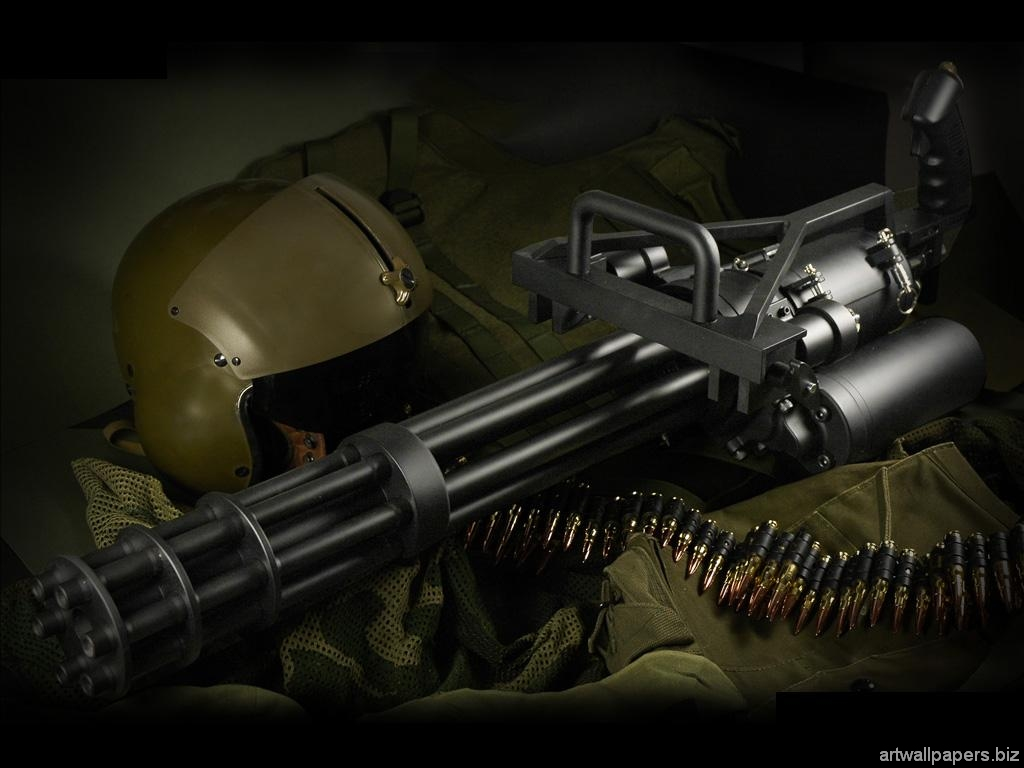 пулемет пушка, скачать фото, machine gun wallpaper, weapons, оружие