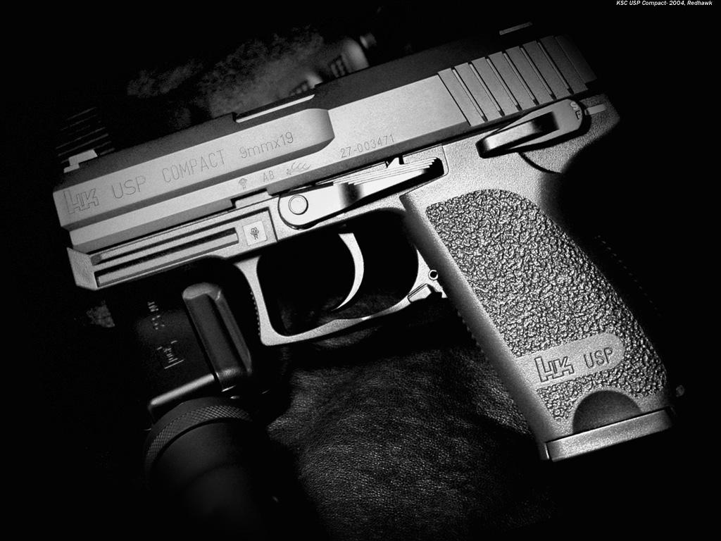 HK USP hand gun wallpaper, скачать фото, обои на рабочий стол, пистолет, оружие