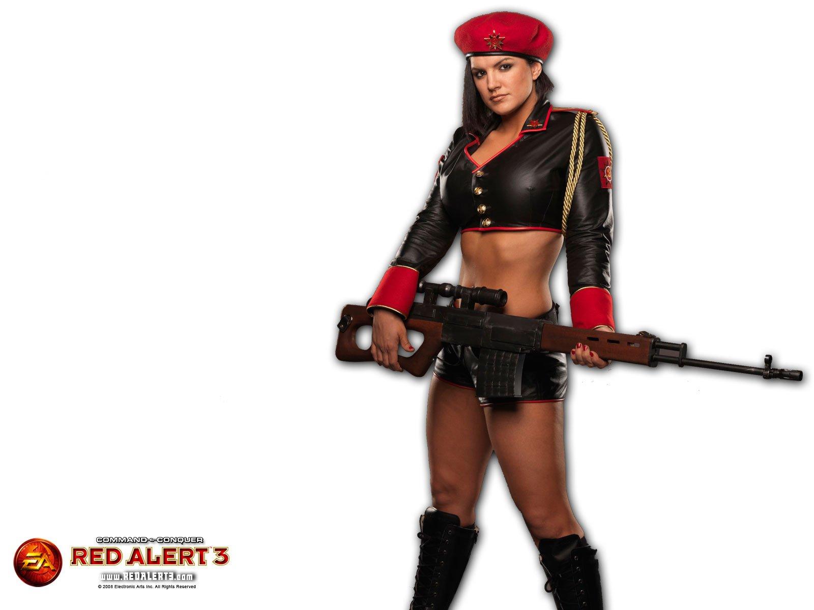 red alert girl sniper photo, девушка снайпер, скачать фото, обои для рабочего стола