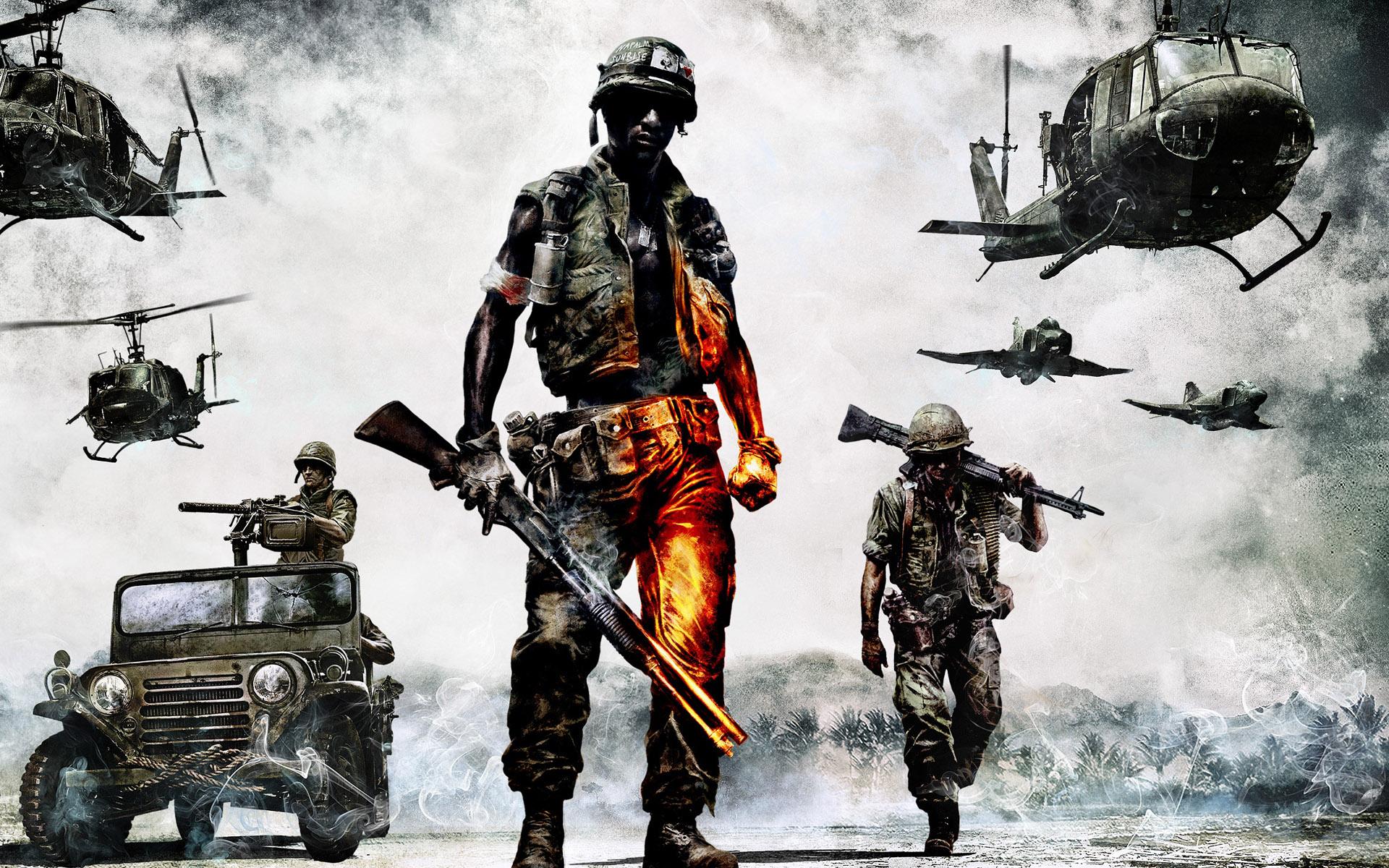 обои для рабочего стола, американский солдат, Вьетнам, american US soldier Vietnam wallpaper