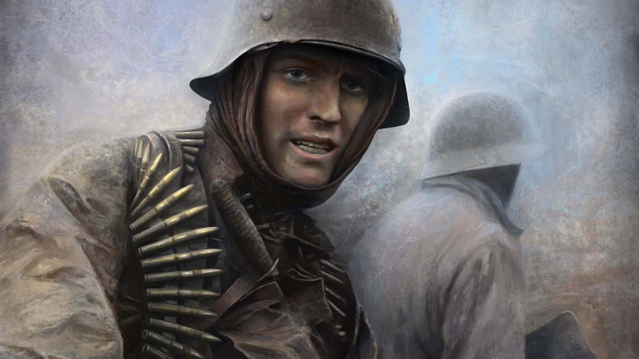 Немецкий солдат, обои для рабочего стола, вторая мировая война, soldier wallpaper