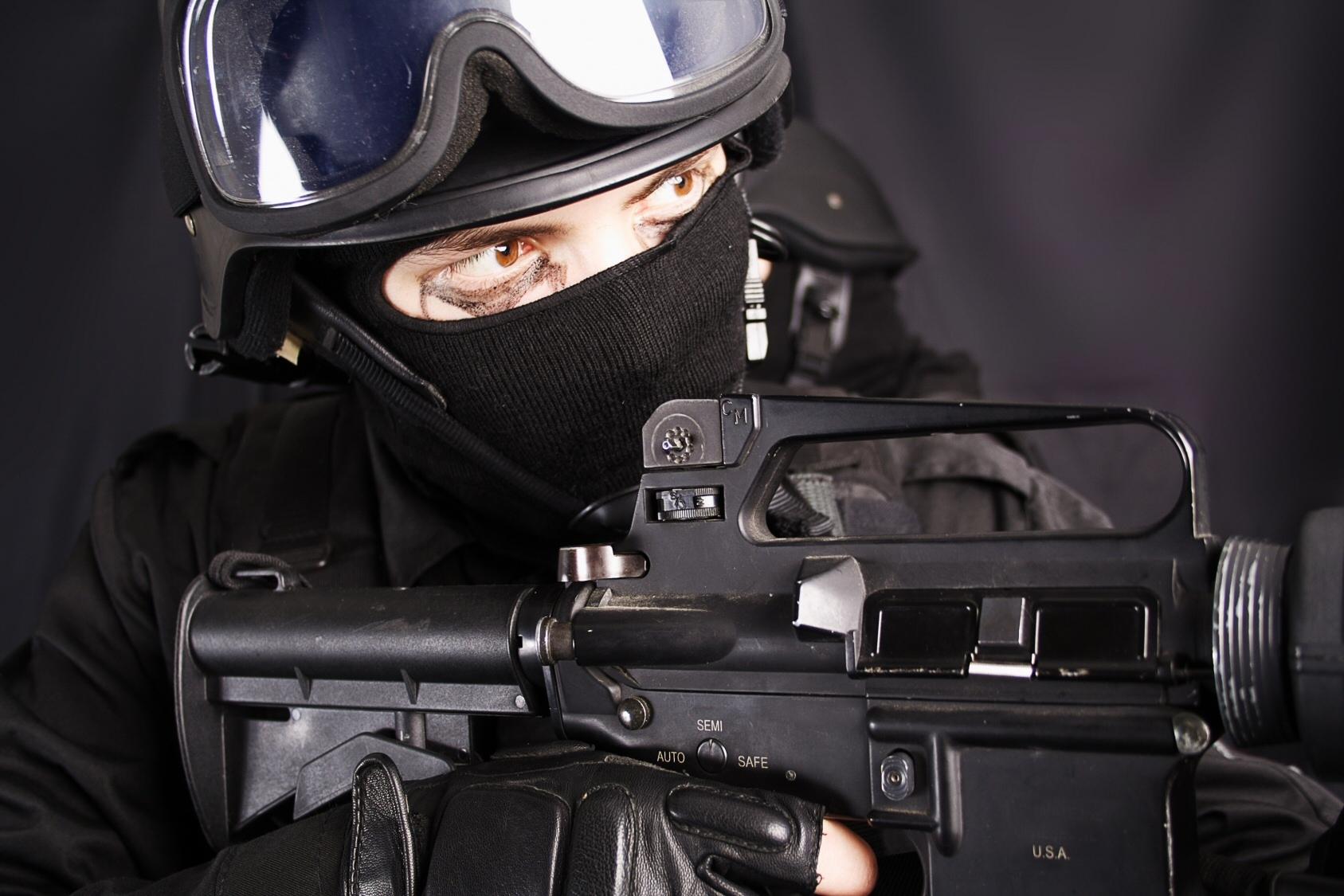 Swat wallpaper, обои для рабочего стола, СВАТ, police, солдат, спецназ, special forces