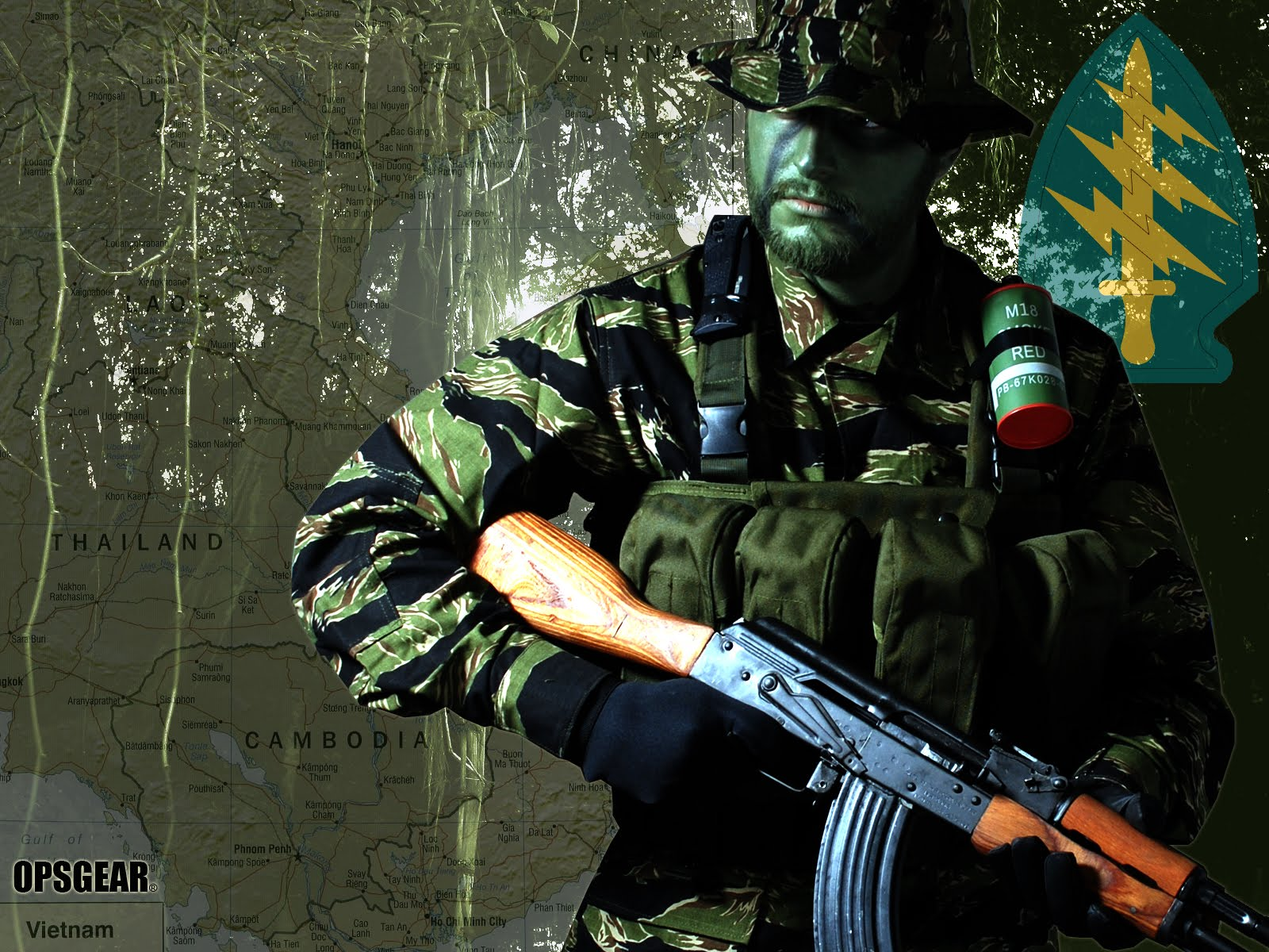 Green beret wallpaper, зеленый берет, обои для рабочего стола, солдат
