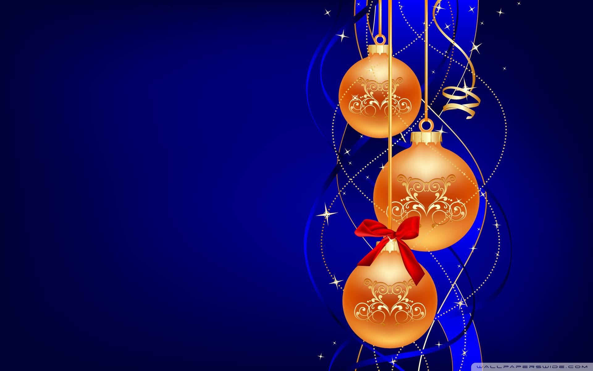 Новогодние игрушки обои для рабочего стола, с Новым 2013 годом, Новый год, Happy New Year Wallpaper