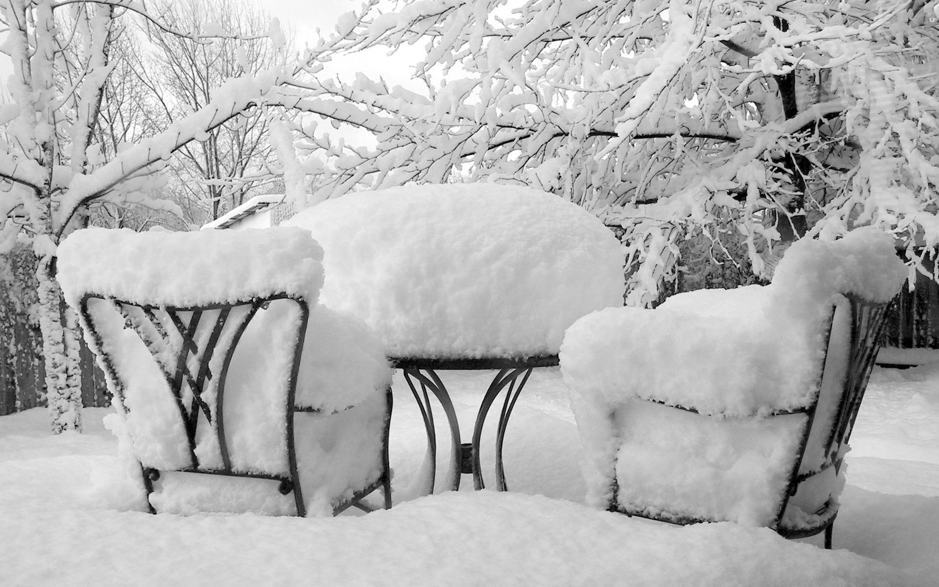 Снег, зима, обои для рабчоего стола, фото