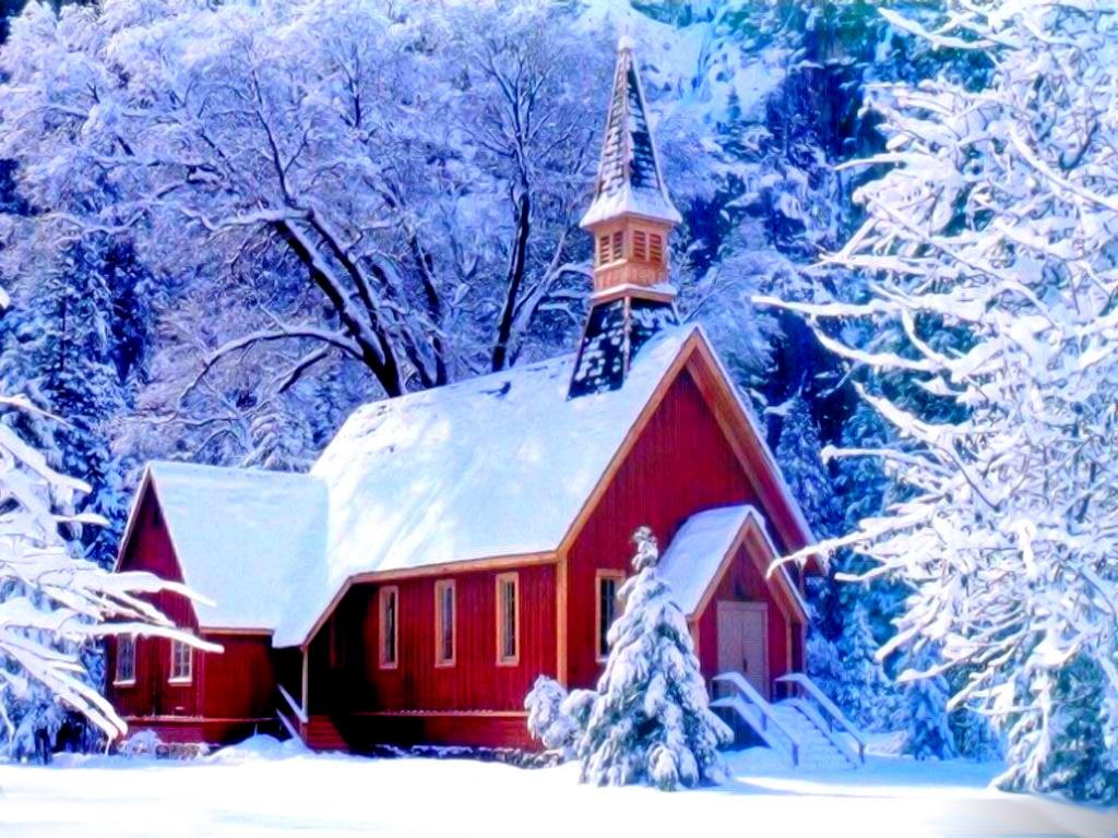 Дом в снегу, обои, зима, фото, на рабочий стол