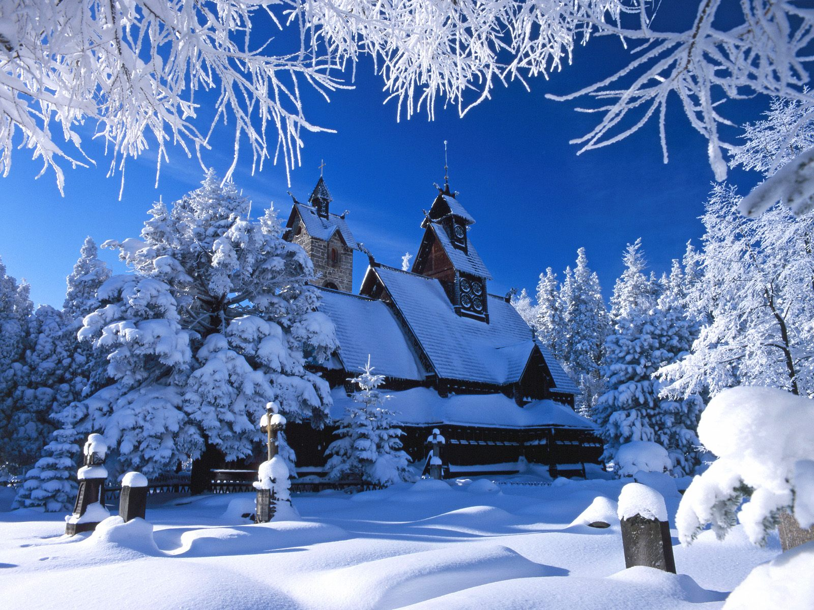 Фото зима открытки
