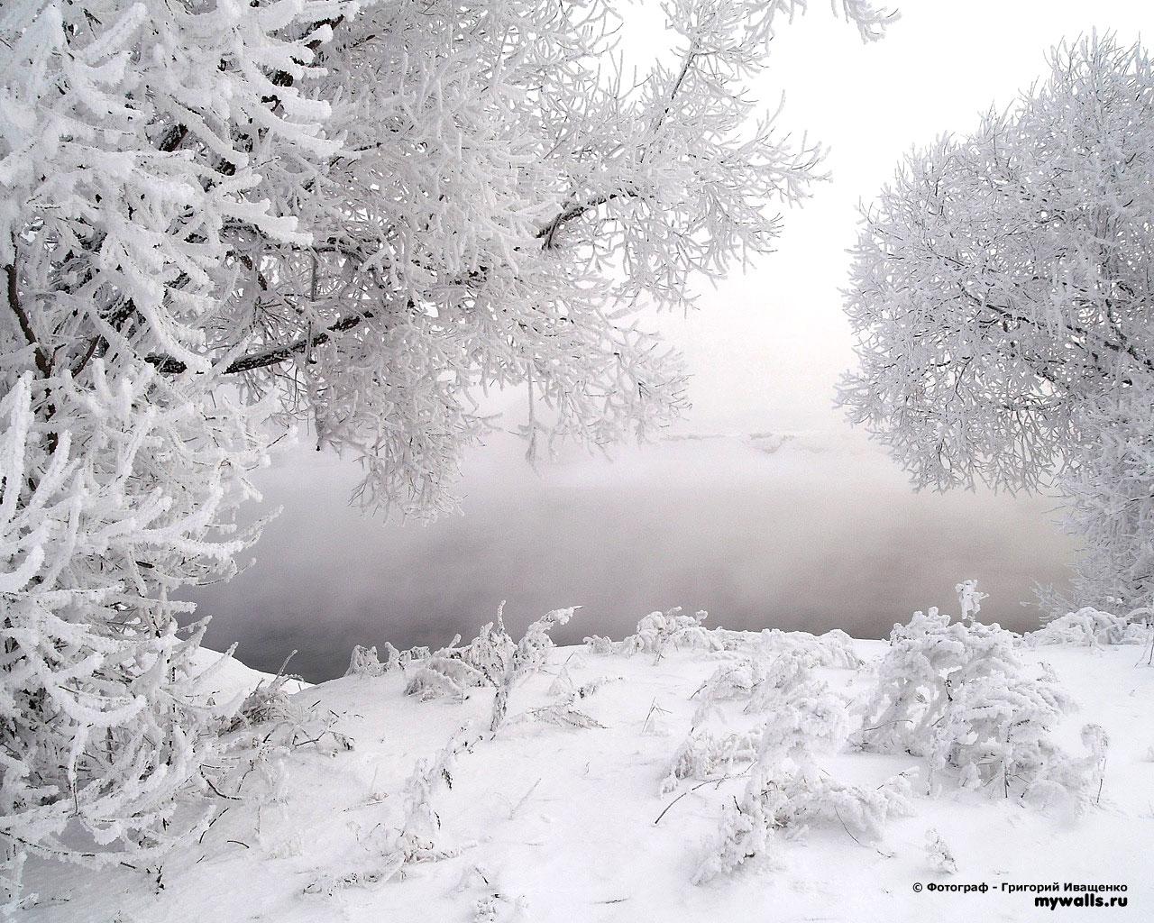 Снег, сугробы фото, обои для рабочего стола