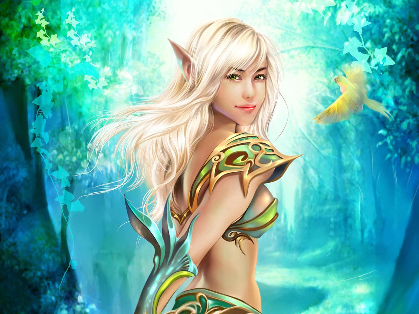 Картинки эльфиек красивых