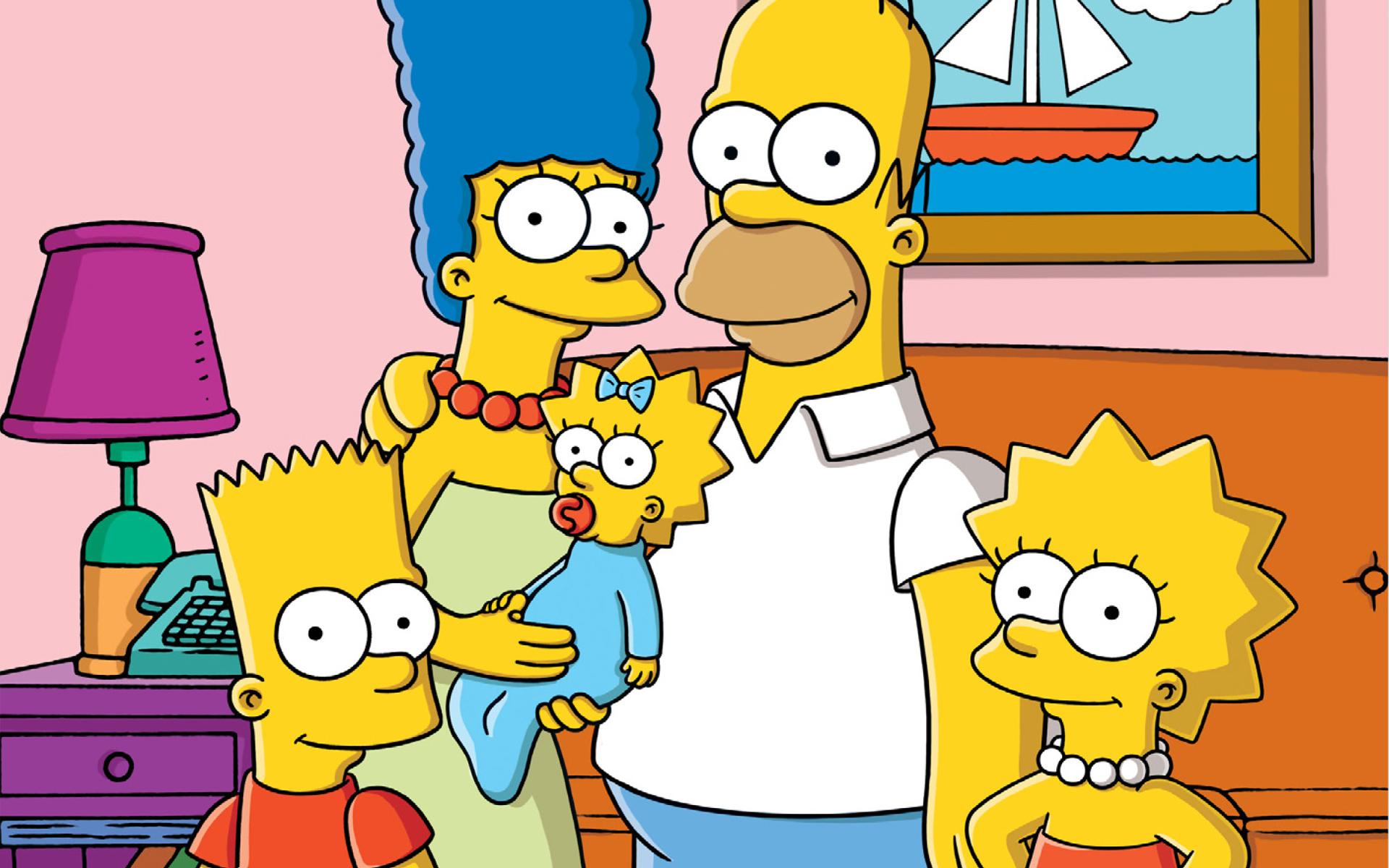 вот симпсоны картинки радость подобных