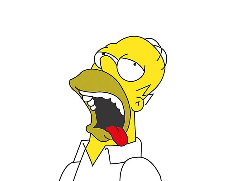 картинка гомера симпсона ммм полной разборки