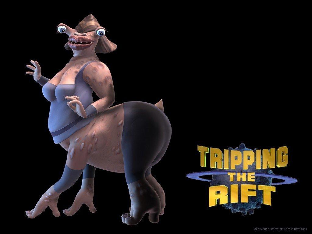 Tripping the Rift, улетный космос, Расплющенный космос, мультфильм, обои для рабочего стола