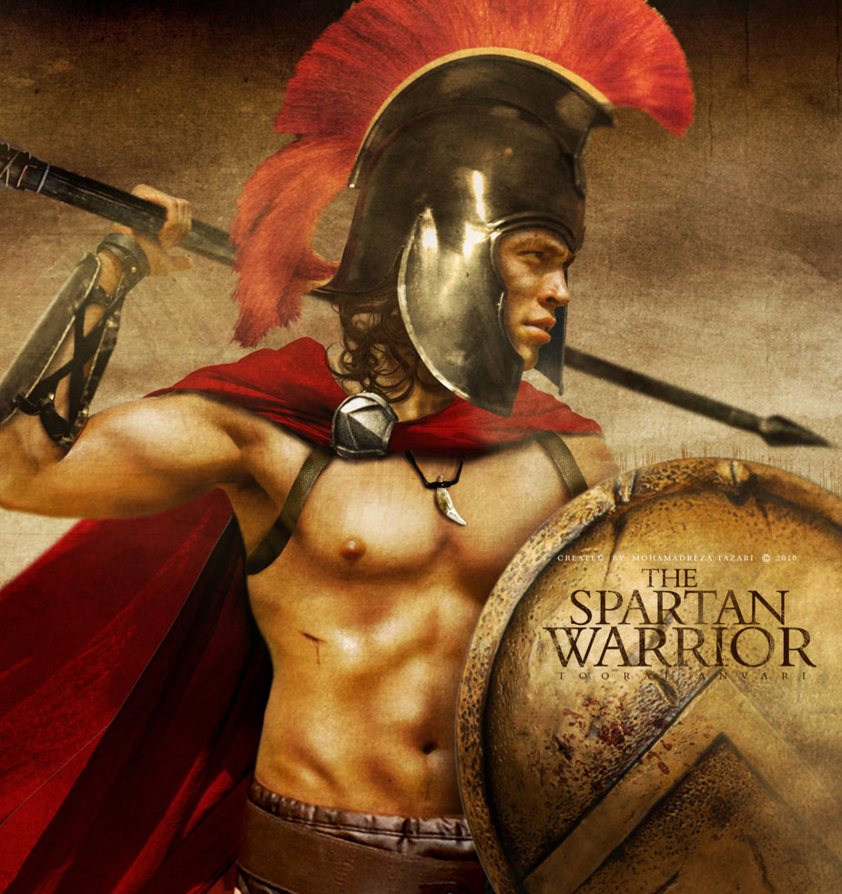 воины спартанцы фото увидели