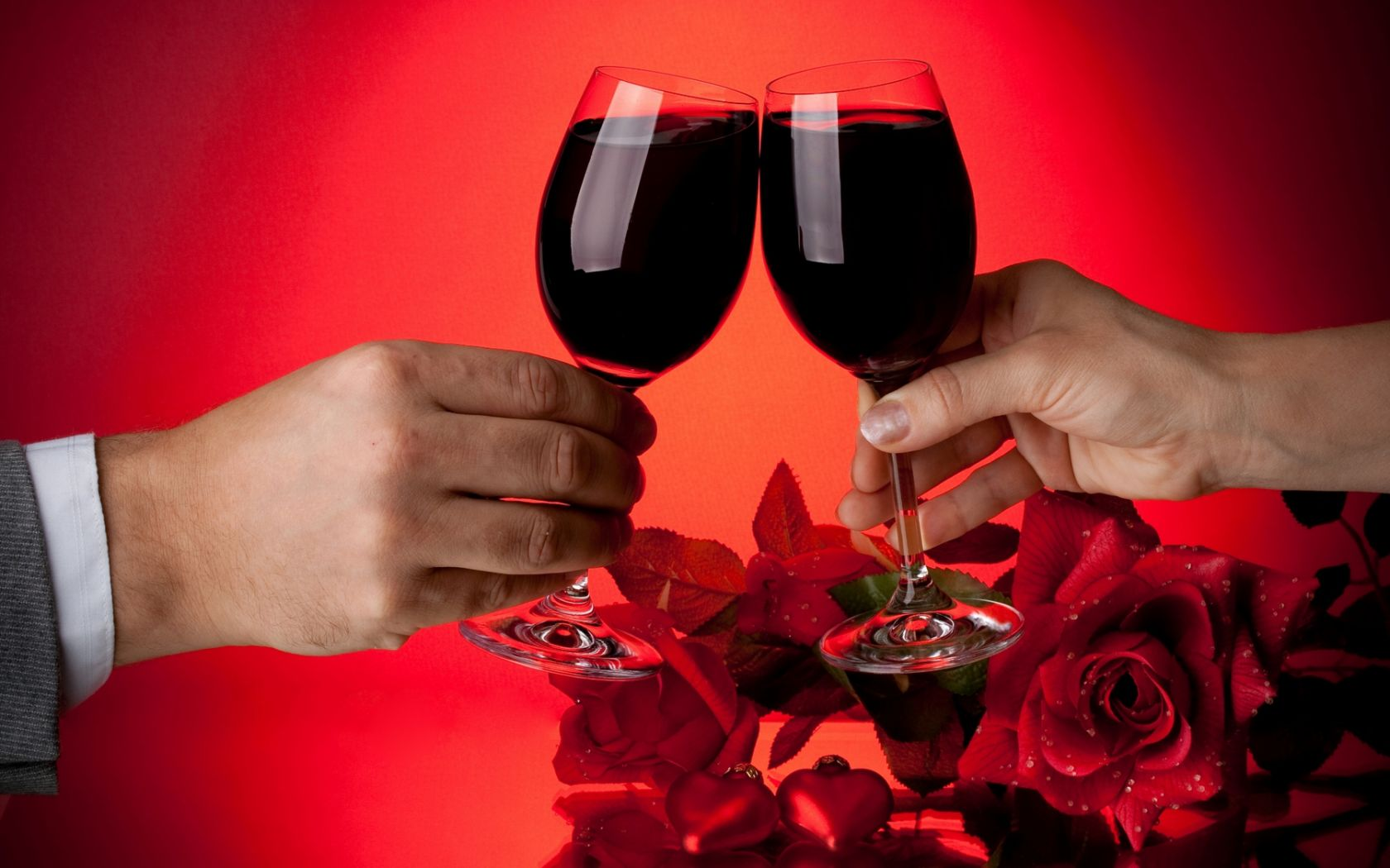 Отдыхать спокойной, открытки с вином и бокалами